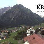 Wetter Kleinwalsertal Mittelberg am 22.07.2016