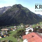 Wetter Kleinwalsertal Mittelberg am 23.07.2016