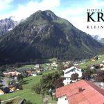 Wetter Kleinwalsertal Mittelberg am 24.07.2016