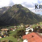 Wetter Kleinwalsertal Mittelberg am 27.07.2016