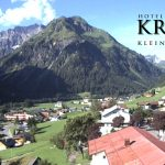 Wetter Kleinwalsertal Mittelberg am 28.07.2016