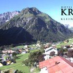 Wetter Kleinwalsertal Mittelberg am 30.07.2016