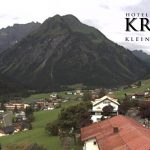 Wetter Kleinwalsertal Mittelberg am 31.07.2016