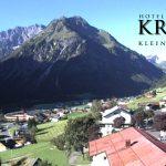 Wetter Kleinwalsertal Mittelberg am 28.08.2016