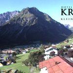 Wetter Kleinwalsertal Mittelberg am 31.08.2016