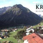 Wetter Kleinwalsertal Mittelberg am 03.09.2016