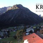 Wetter Kleinwalsertal Mittelberg am 26.09.2016