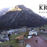 Wetter Kleinwalsertal Mittelberg am 01.11.2016