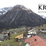 Wetter Kleinwalsertal Mittelberg am 05.11.2016
