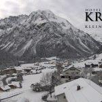 Wetter Kleinwalsertal Mittelberg am 09.11.2016