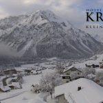 Wetter Kleinwalsertal Mittelberg am 12.11.2016