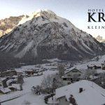 Wetter Kleinwalsertal Mittelberg am 14.11.2016