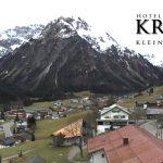 Wetter Kleinwalsertal Mittelberg am 22.11.2016