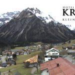 Wetter Kleinwalsertal Mittelberg am 23.11.2016
