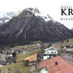 Wetter Kleinwalsertal Mittelberg am 25.11.2016