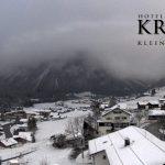 Wetter Kleinwalsertal Mittelberg am 28.11.2016