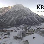 Wetter Kleinwalsertal Mittelberg am 06.01.2017