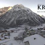 Wetter Kleinwalsertal Mittelberg am 09.01.2017