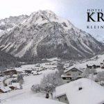 Wetter Kleinwalsertal Mittelberg am 15.01.2017