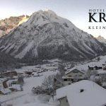 Wetter Kleinwalsertal Mittelberg am 19.01.2017