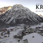 Wetter Kleinwalsertal Mittelberg am 21.01.2017