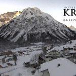 Wetter Kleinwalsertal Mittelberg am 22.01.2017