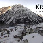 Wetter Kleinwalsertal Mittelberg am 23.01.2017