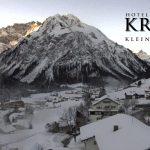 Wetter Kleinwalsertal Mittelberg am 25.01.2017