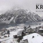 Wetter Kleinwalsertal Mittelberg am 31.01.2017