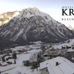 Wetter Kleinwalsertal Mittelberg am 07.02.2017