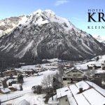 Wetter Kleinwalsertal Mittelberg am 10.02.2017