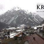 Wetter Kleinwalsertal Mittelberg am 18.03.2017
