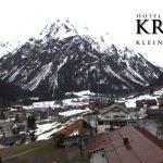 Wetter Kleinwalsertal Mittelberg am 19.03.2017