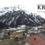 Wetter Kleinwalsertal Mittelberg am 24.03.2017