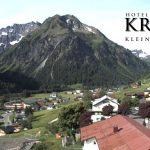 Wetter Kleinwalsertal Mittelberg am 08.06.2017