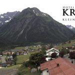 Wetter Kleinwalsertal Mittelberg am 12.06.2017
