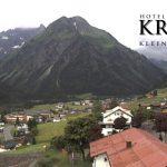 Wetter Kleinwalsertal Mittelberg am 16.06.2017