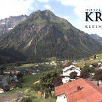 Wetter Kleinwalsertal Mittelberg am 23.06.2017