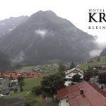 Wetter Kleinwalsertal Mittelberg am 25.06.2017