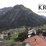 Wetter Kleinwalsertal Mittelberg am 13.08.2017