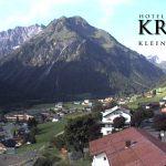 Wetter Kleinwalsertal Mittelberg am 18.08.2017