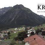 Wetter Kleinwalsertal Mittelberg am 22.08.2017