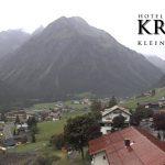 Wetter Kleinwalsertal Mittelberg am 06.09.2017