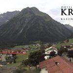 Wetter Kleinwalsertal Mittelberg am 09.09.2017