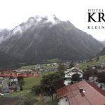 Wetter Kleinwalsertal Mittelberg am 10.09.2017