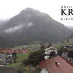 Wetter Kleinwalsertal Mittelberg am 12.09.2017