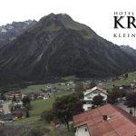 Wetter Kleinwalsertal Mittelberg am 13.09.2017