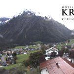 Wetter Kleinwalsertal Mittelberg am 18.09.2017