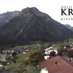 Wetter Kleinwalsertal Mittelberg am 28.09.2017
