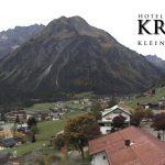 Wetter Kleinwalsertal Mittelberg am 29.09.2017